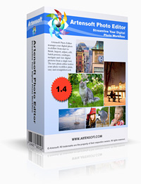 Main view digital photo editor