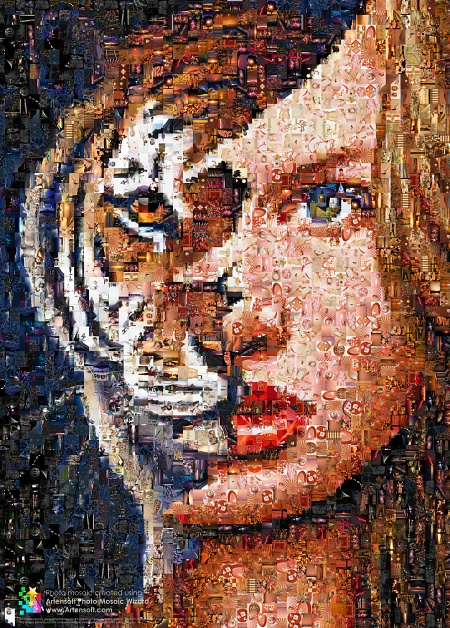 photomosaïque (photo mosaic)