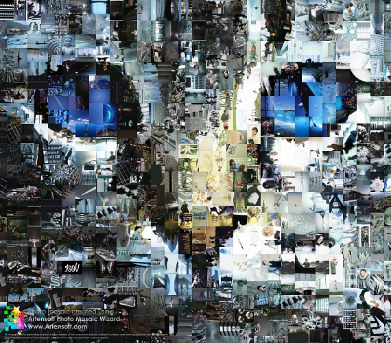 The Cat Photomosaic (Photo collage)