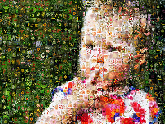 The Baby Photomosaic (Photo collage)