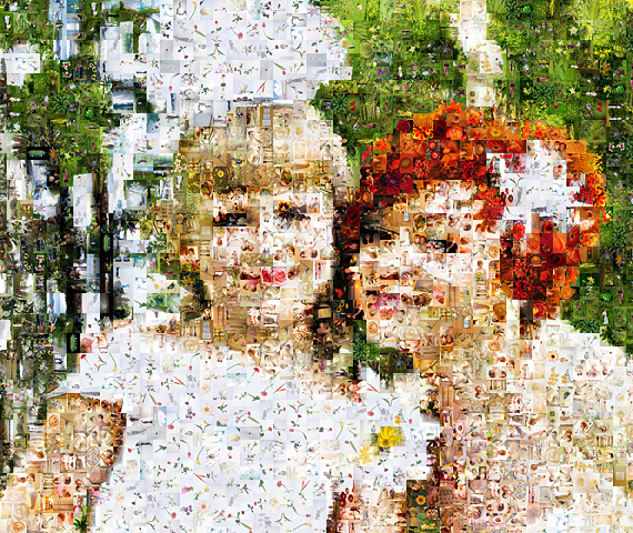 mosaic photo