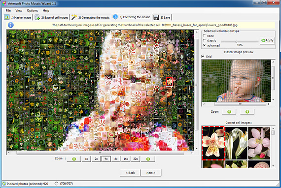 Artensoft Photo Mosaic Wizard 1.8.129 Full key Download