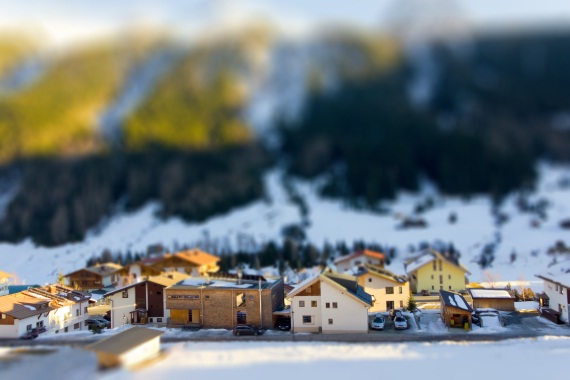tilt shift effects