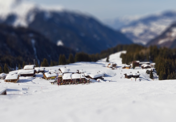 tilt shift photos