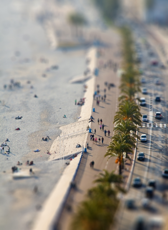 tilt shift wallpaper